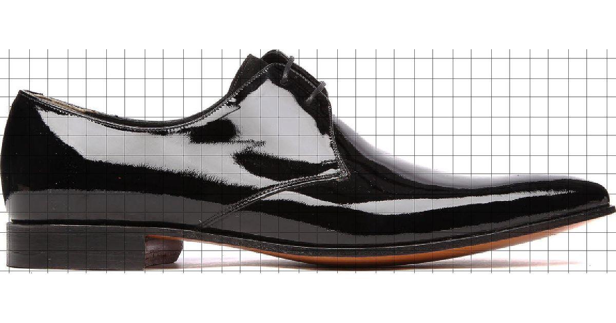 828cadb1 Barker Goldington Patent Derby Shoes in Black for Men - Lyst