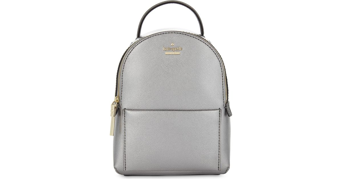 great deals pick up buy best Kate Spade Gray Cameron Street Merry Mini Leather Backpack