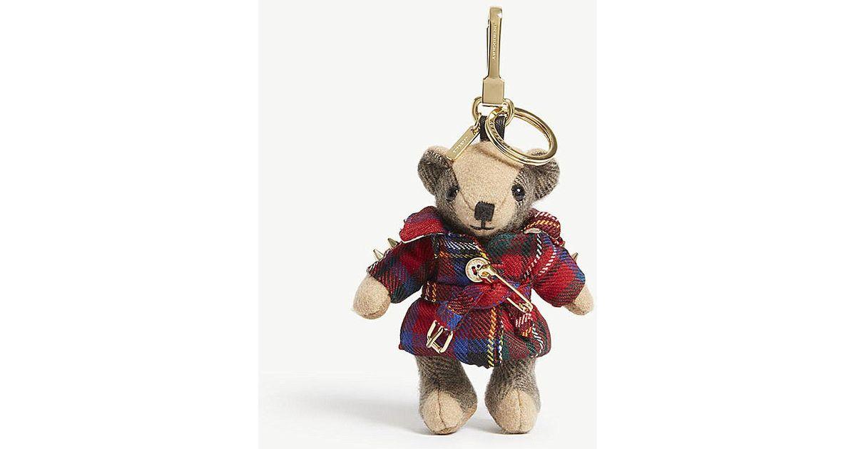 burberry bear keychain