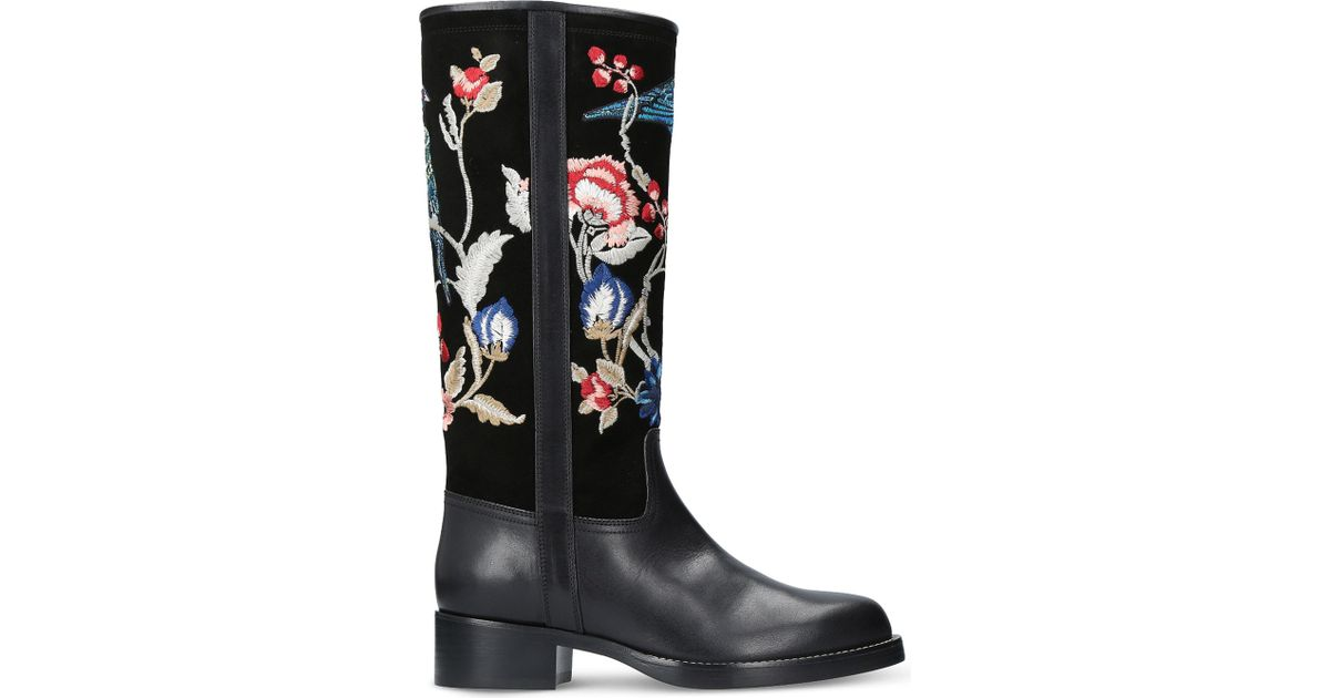 Etro 30MM LEATHER BOOTS po2a62JoV