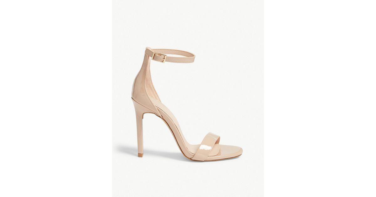 95535c03dd8 Lyst - ALDO Derolila High Ankle Strap Sandals
