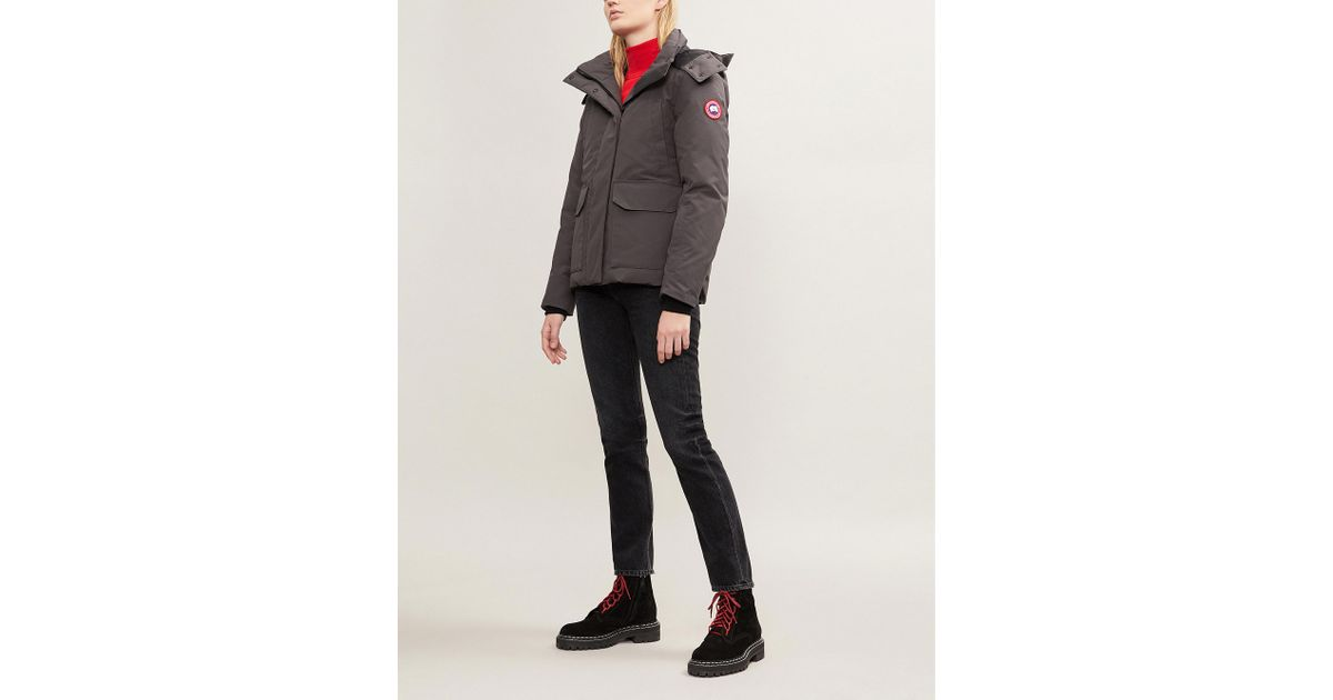 03c39981b Canada Goose Multicolor Blakely Feather And Shell-down Parka Coat
