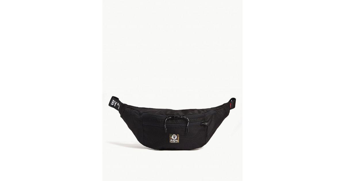 c4c169a66323e5 Aape Belt Bag in Black for Men - Lyst