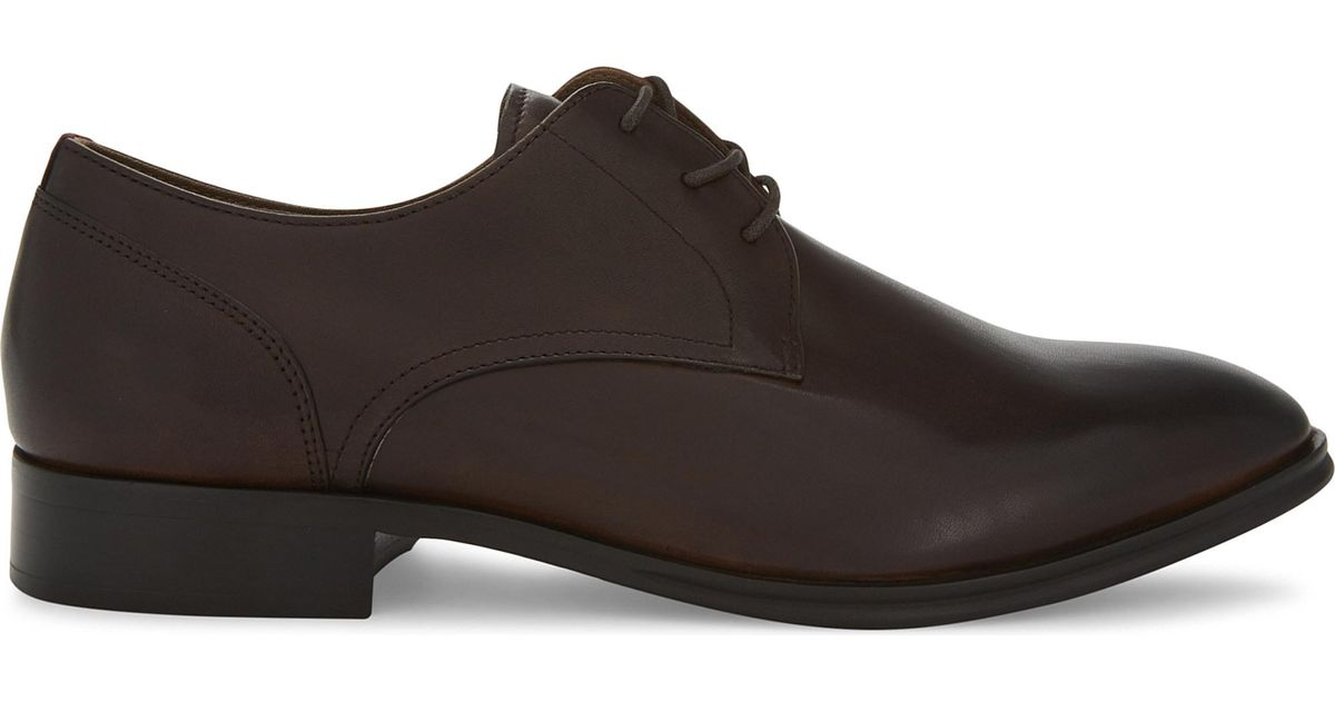 Aldo Lauriano Derby Leather Shoes In MGRKAg