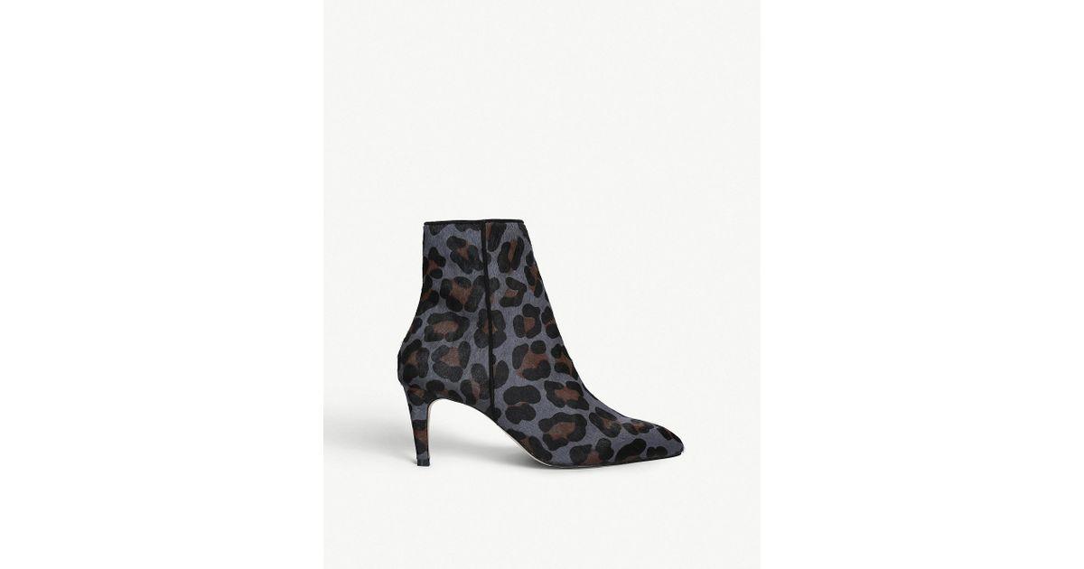 Carvela Kurt Geiger Leather Leopard