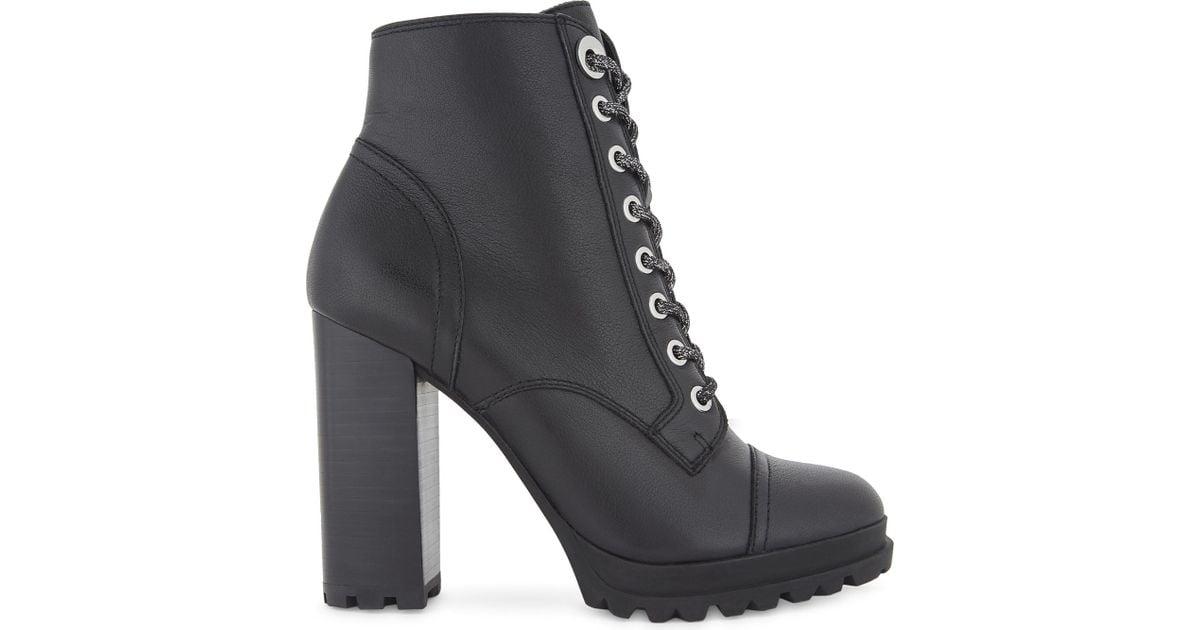 ALDO Marille Leather Biker Boots in