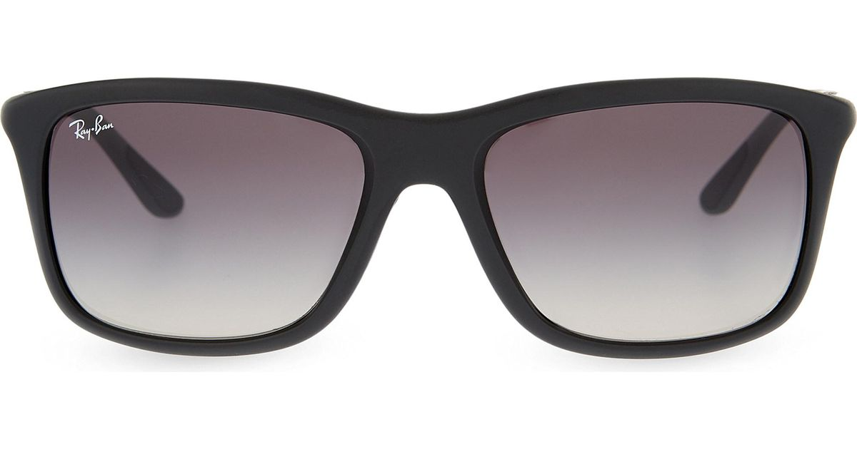 6baa4bb4f63 Lyst - Ray-Ban Rb8352 Square-frame Sunglasses in Black