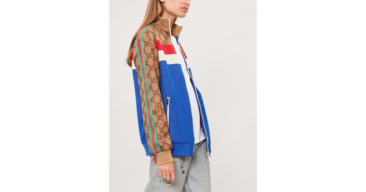 fce3a8789 Gucci Womens Brown in Blue - Lyst