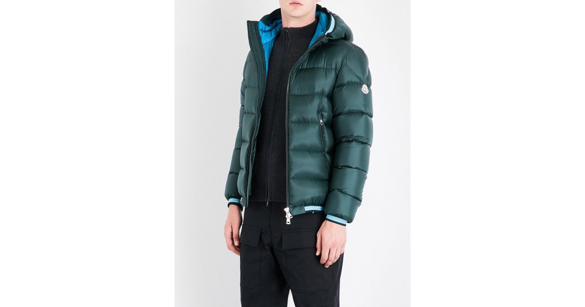 967f74f31 Moncler Green Jeanbart Quilted Shell Jacket for men