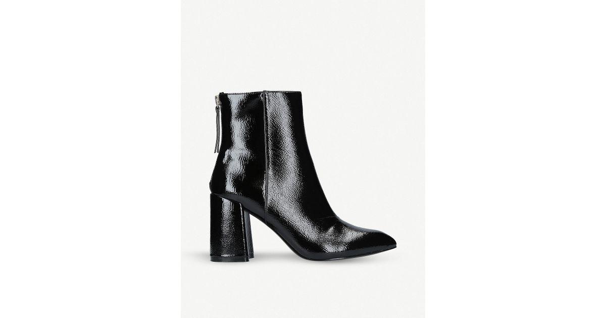 Miss Kg Secret Patent Boots in Black - Lyst