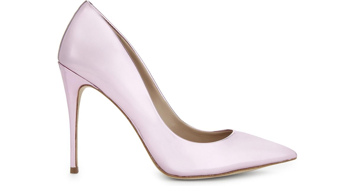 b4f5a60a3d7f Lyst - ALDO Stessy Faux-leather Courts in Metallic