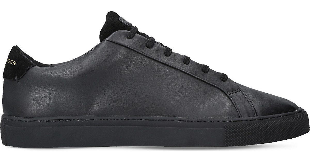 Kurt Geiger Donnie Leather Trainers in