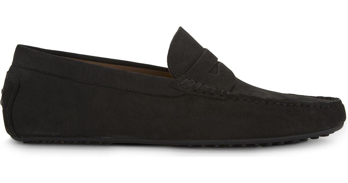 ALDO Gwiralian Suede Loafers in Black