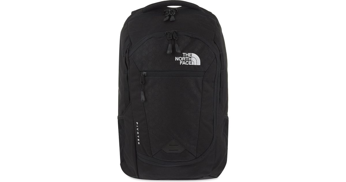 2de0b766a The North Face Black Pivoter Backpack for men
