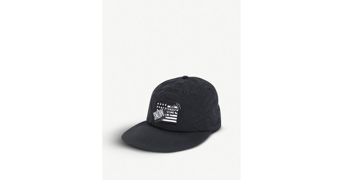 85821c9077c43 Polo Ralph Lauren Snow Beach Fitted Cap in Black for Men - Lyst
