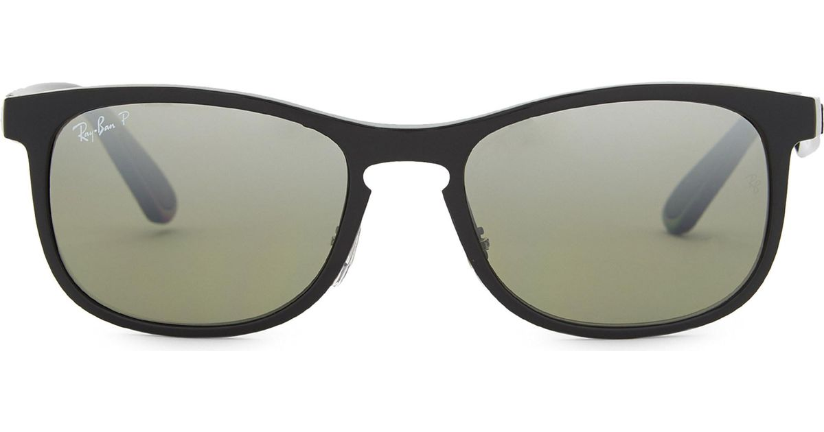 d24837c645 Lyst - Ray-Ban Rb4263 Chromance Square Sunglasses in Black for Men