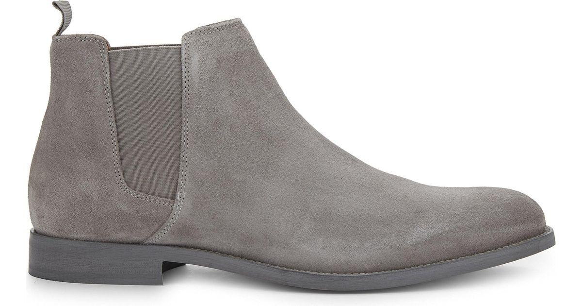 ALDO Vianello-r Suede Chelsea Boots in
