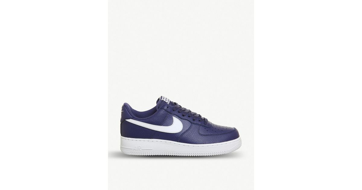 Lyst Nike Mesh Air Force 1 07 Mesh Nike Zapatillas En Azul Para Los Hombres ecab9a
