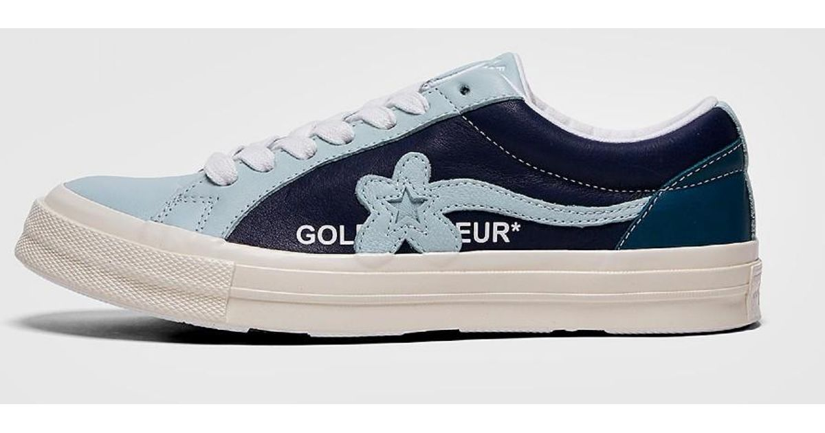 low priced d401e 08b9d Converse Golf Le Fleur Ox Sneakers in Blue for Men - Save 26% - Lyst