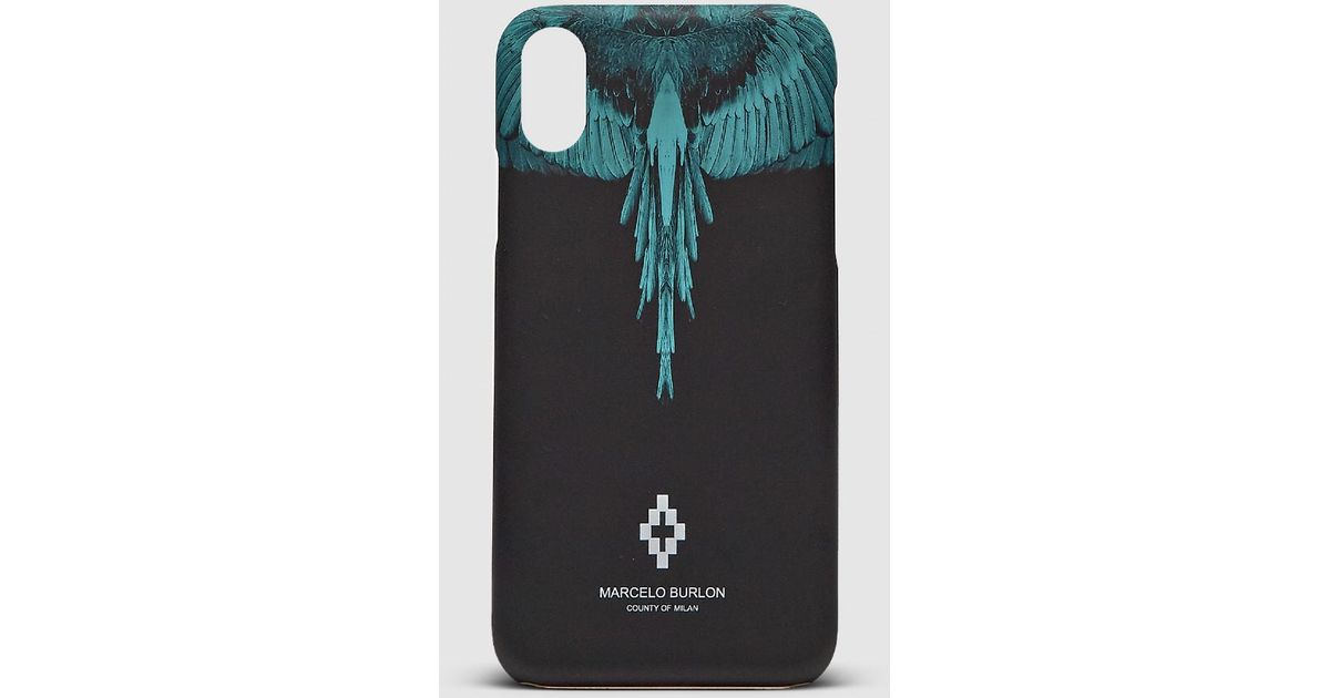 Marcelo Burlon Blue Wings Iphone X Cover