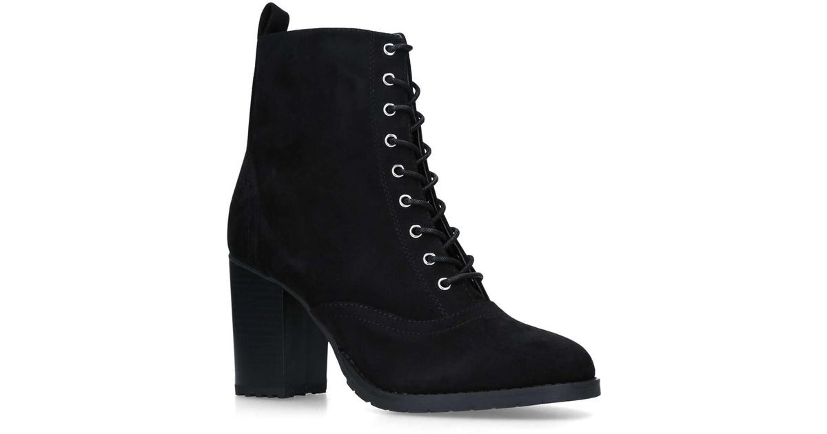 Faith Beats Lace Up Ankle Boot (side