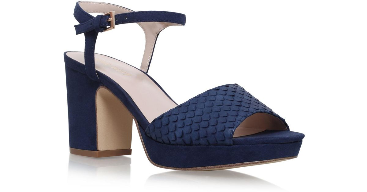 50dc0a52fb1 Nine West Vice in Blue - Lyst