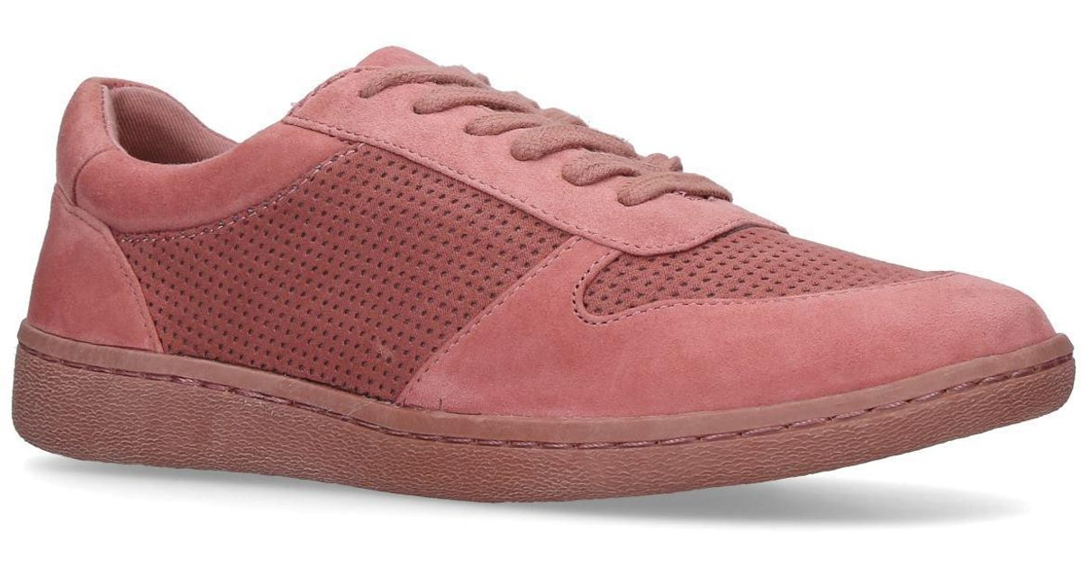 Kurt Geiger Suede Layla Sneakers Pink