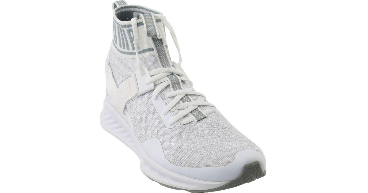 Lyst - Puma Ignite Evoknit Ignite Evoknit in White for Men e1b6188c5
