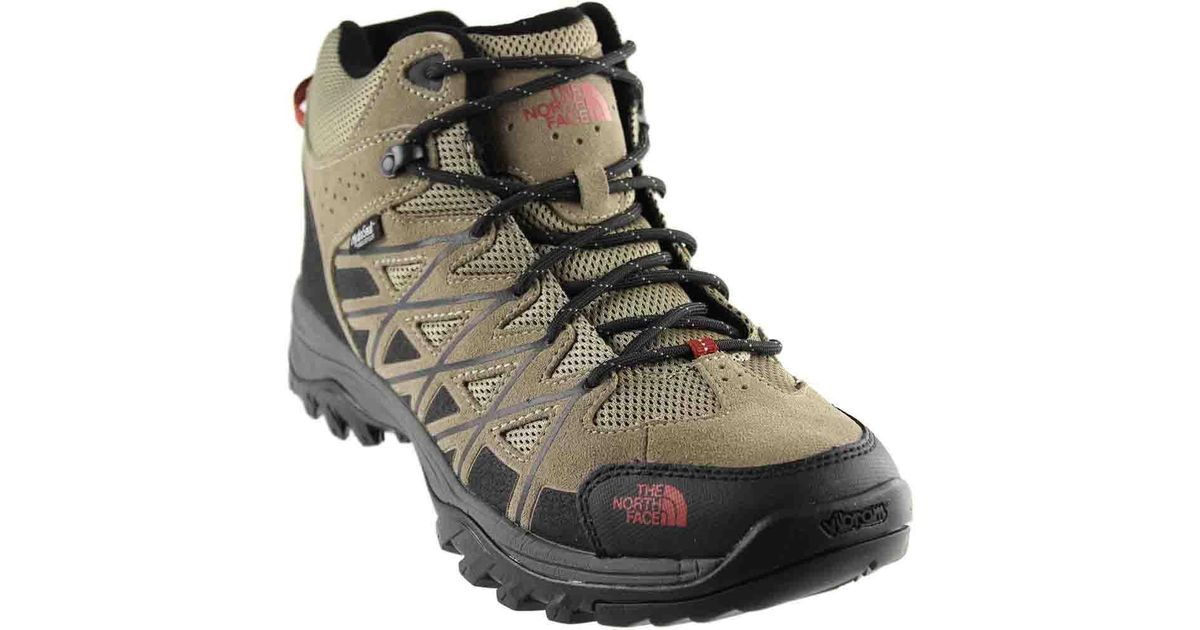 244d2658692 The North Face Brown Storm Iii Mid Waterproof Hiking Boots for men