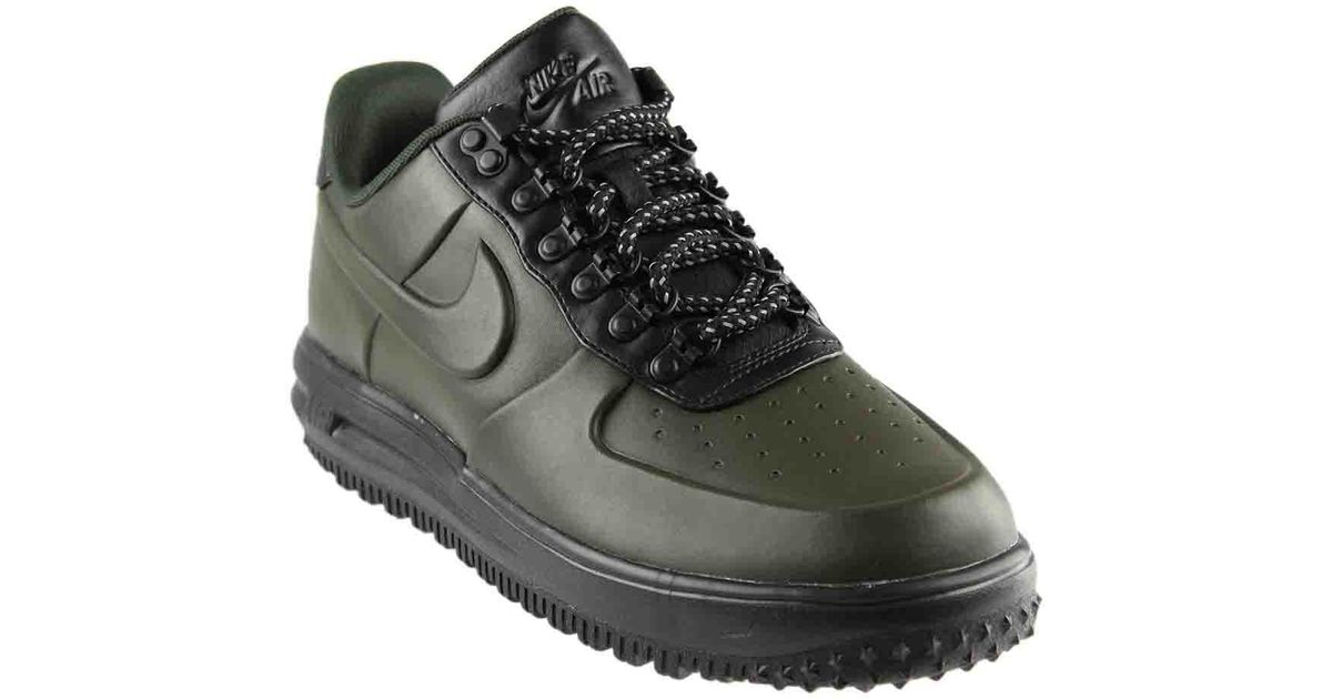 finest selection 73d27 84e2f ... official store lyst nike lunar force 1 duckboot low in green for men  03b60 a55d5 ...