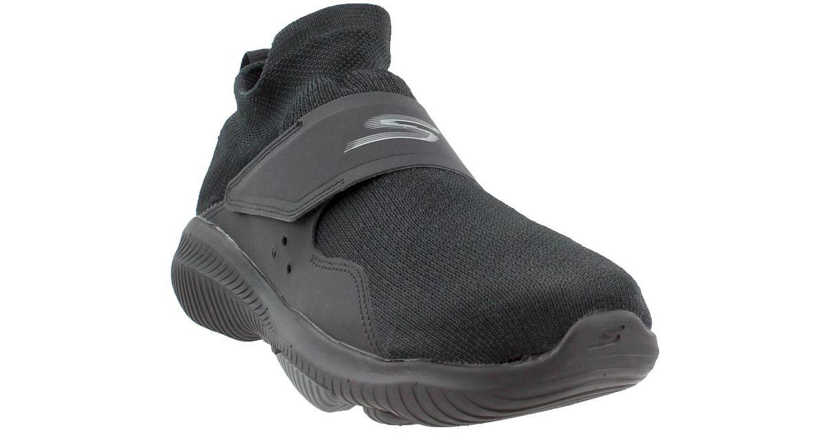 Skechers Black Gowalk Revolution Ultra Revolve for men