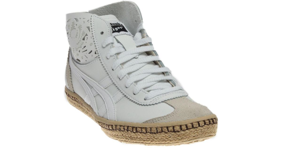 a388386c7c7 Lyst - Asics Mexico Mid Runner Espadrille in White for Men
