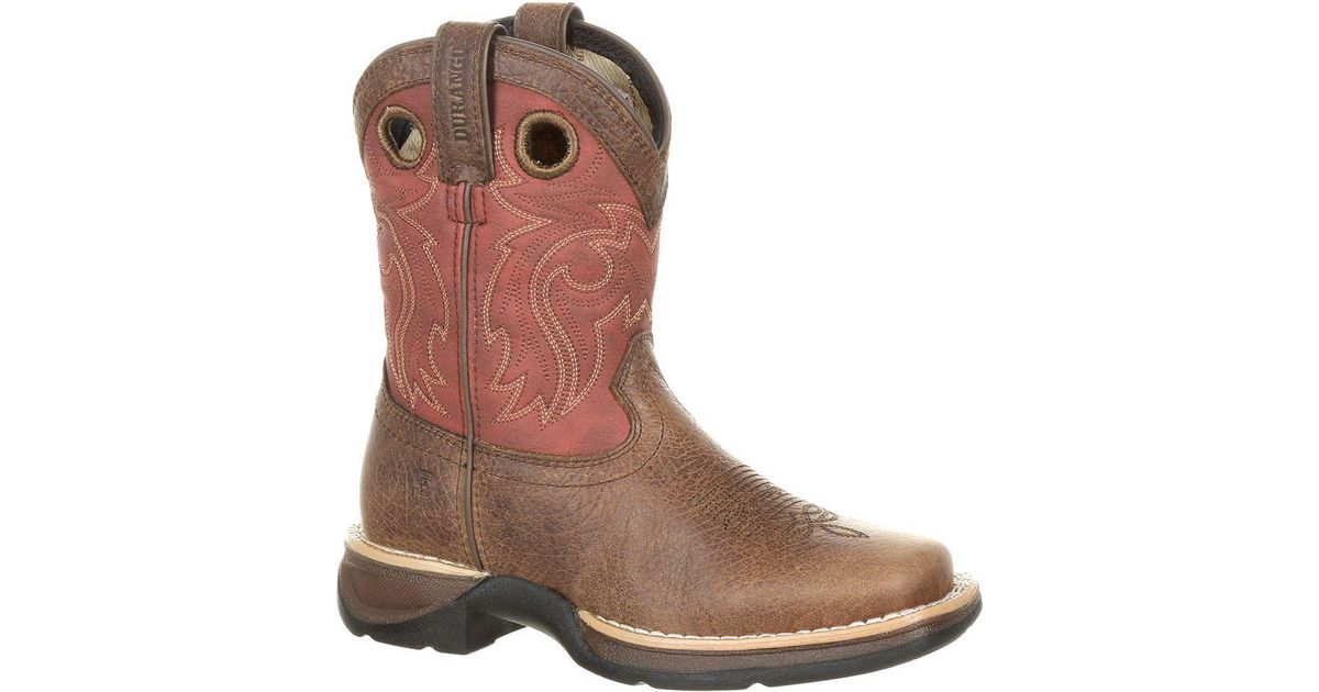d988ba708f8 Durango - Brown Lil' Rebel By Little Kids' Waterproof Western Saddle Boot  for Men - Lyst