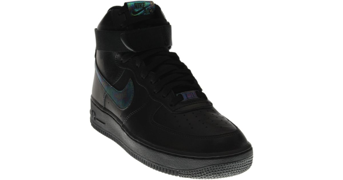 477c6216bc862 Nike Air Force 1 High 07 Lv8 in Black for Men - Lyst