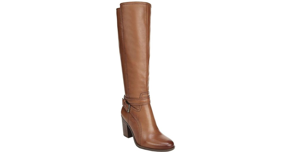 09451c1149f Lyst - Naturalizer Kelsey Wide Calf in Brown - Save 15%