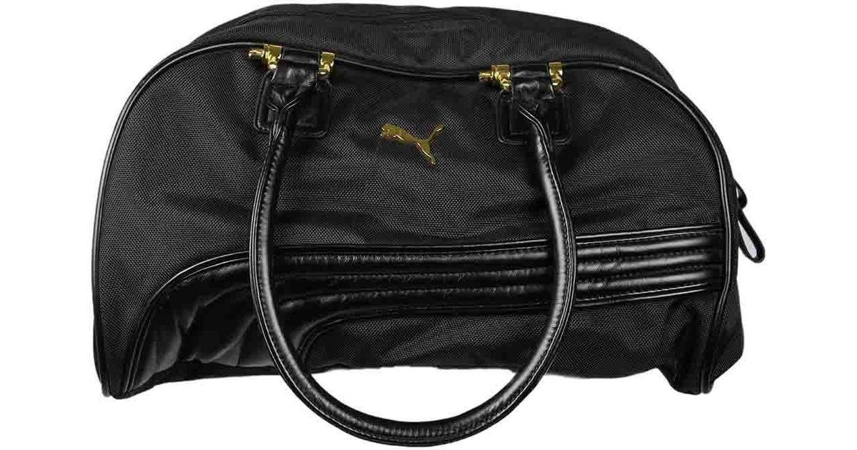 Lyst - PUMA Cartel Handbag Cartel Handbag in Black 6059bb128c849