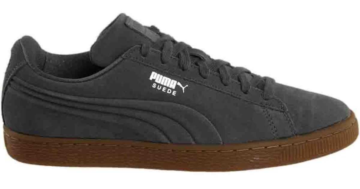 86ede0af36a PUMA Suede Classic Debossed Q4 in Gray for Men - Lyst