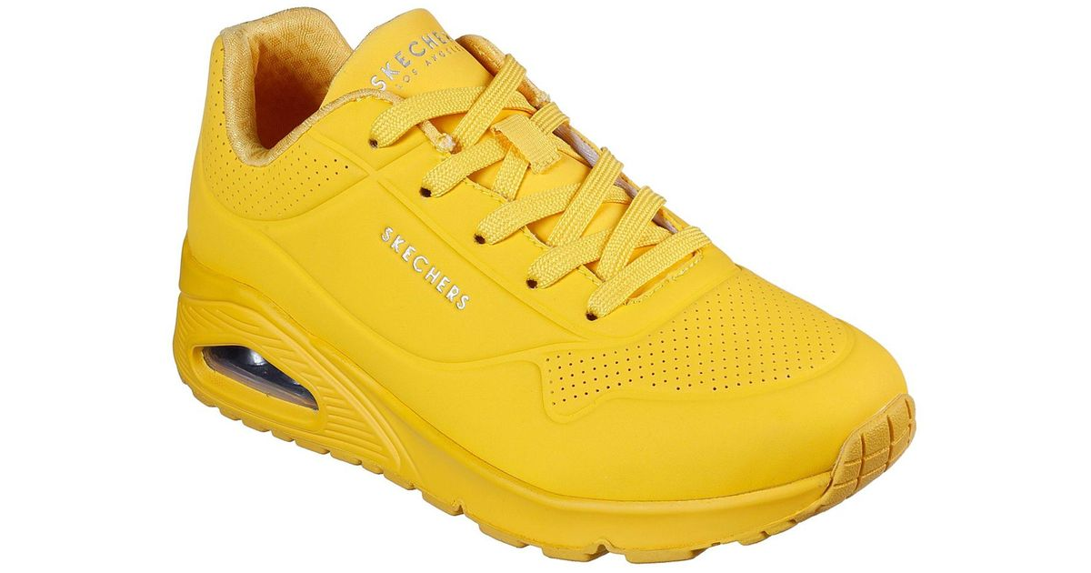 Skechers Leather Uno - Stand On Air in