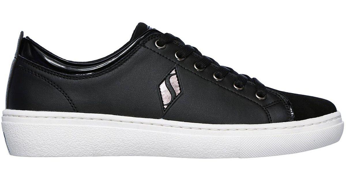 5409a729e00a Lyst - Skechers Goldie - Street Sleak in Black