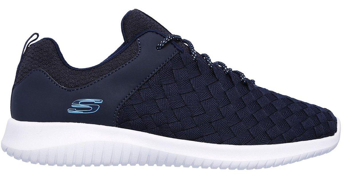 Skechers Blue Ultra Flex Weave Away for men