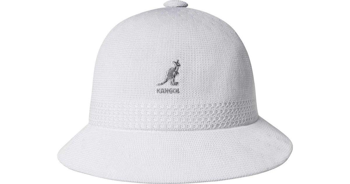 2330957e4d1 Lyst - Kangol Tropic Ventair Snipe Bucket Hat in White for Men