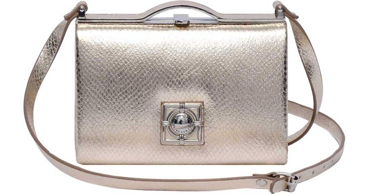 a2fee01d5f85 Lyst - Catherine Malandrino Becca Crossbody Bag in Metallic