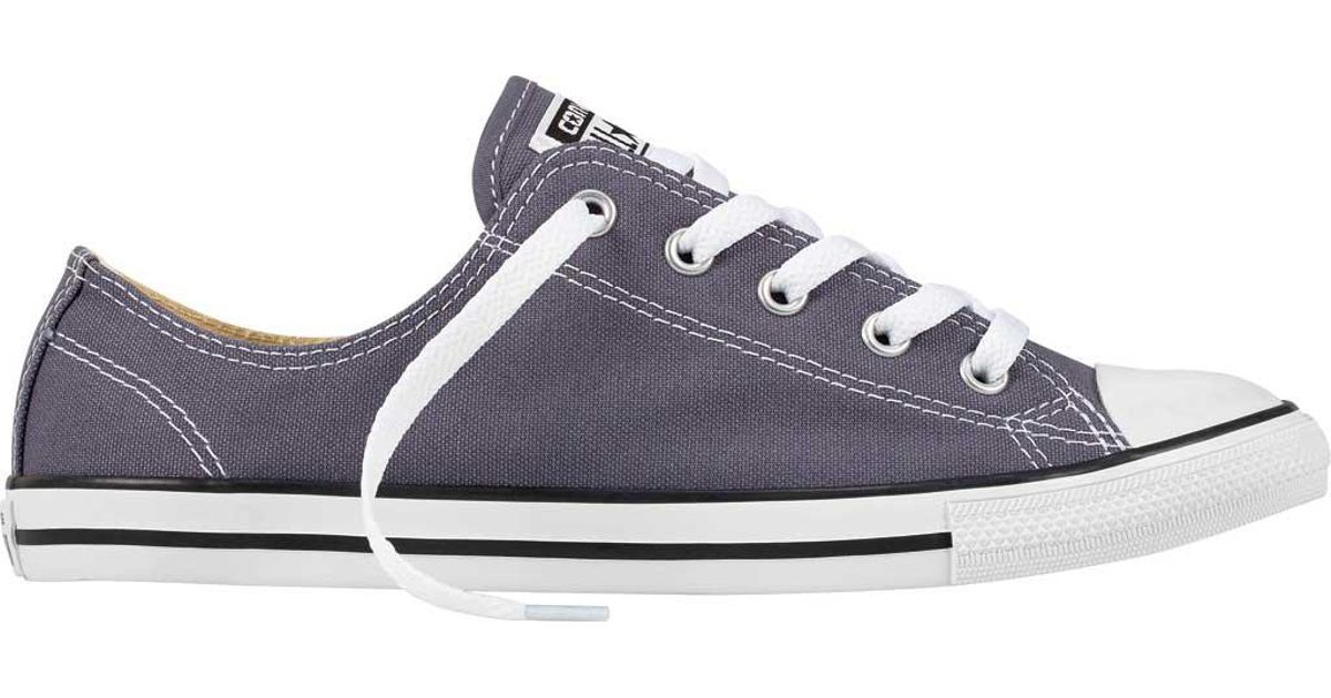 443e102d26e0 Lyst - Converse Chuck Taylor All Star Dainty Ox in Blue