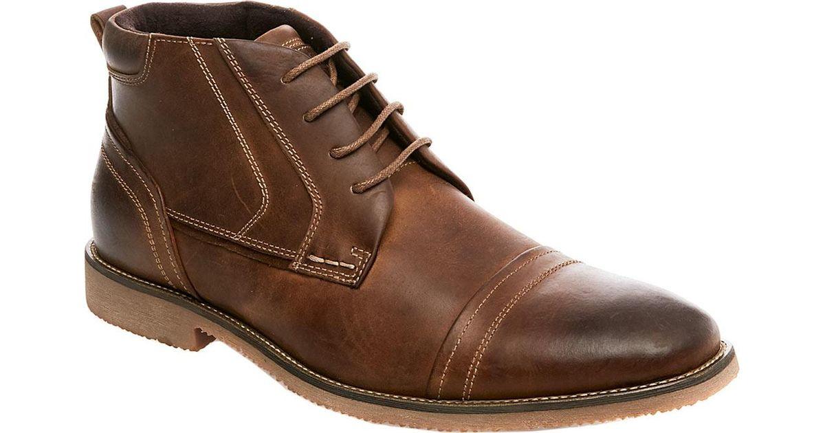 0e9b7bc26d5 Steve Madden Brown Landon Chukka Boot for men