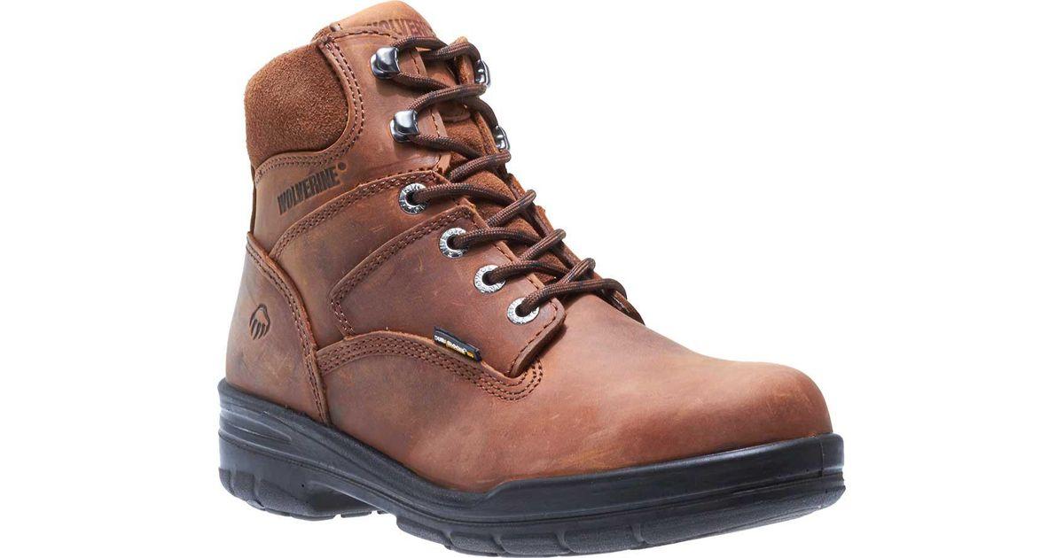 409a10f9c40 Wolverine - Brown Durashocks Slip Resistant 6' for Men - Lyst