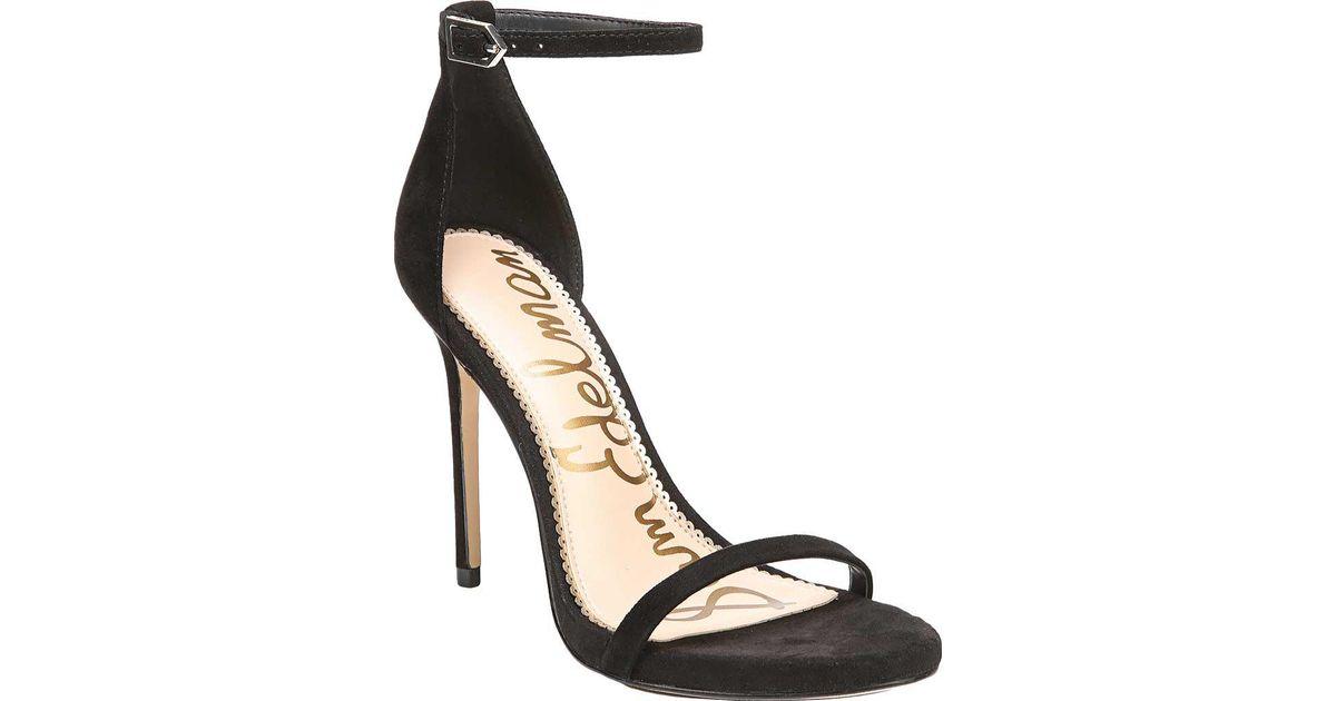 Sam Edelman Jolene Suede Platform Ankle-Strap Sandals t3FUkh1