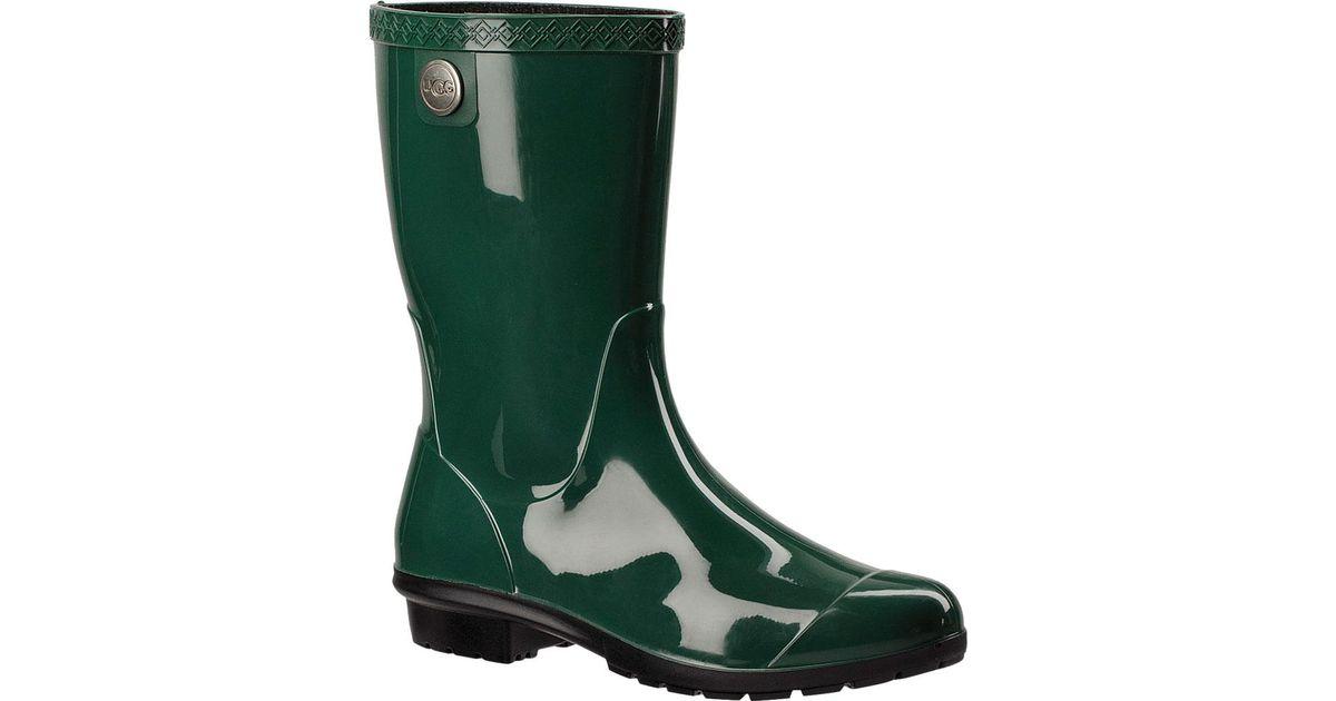 44552916b03 Ugg Green Sienna Rain Boot