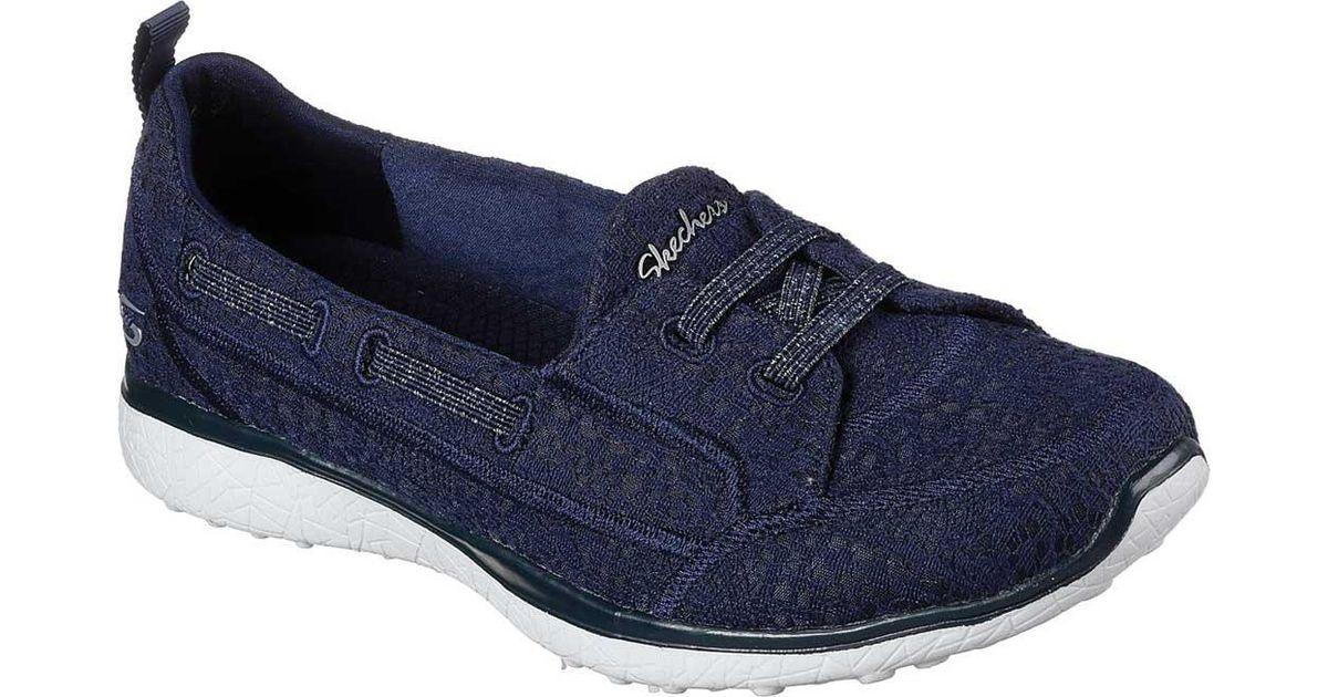 ad2e0f703a72 Lyst - Skechers Microburst Gentle Gaze Sneaker in Blue