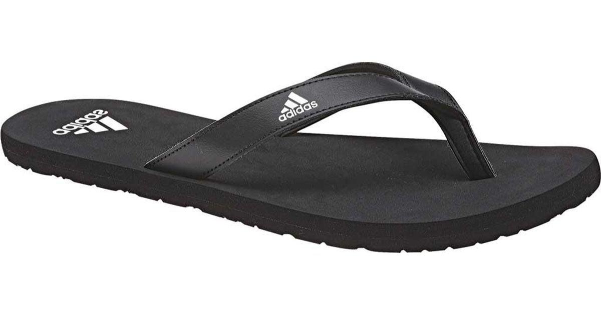 774b05757236f Adidas Black Eezay Essence Thong Sandal for men