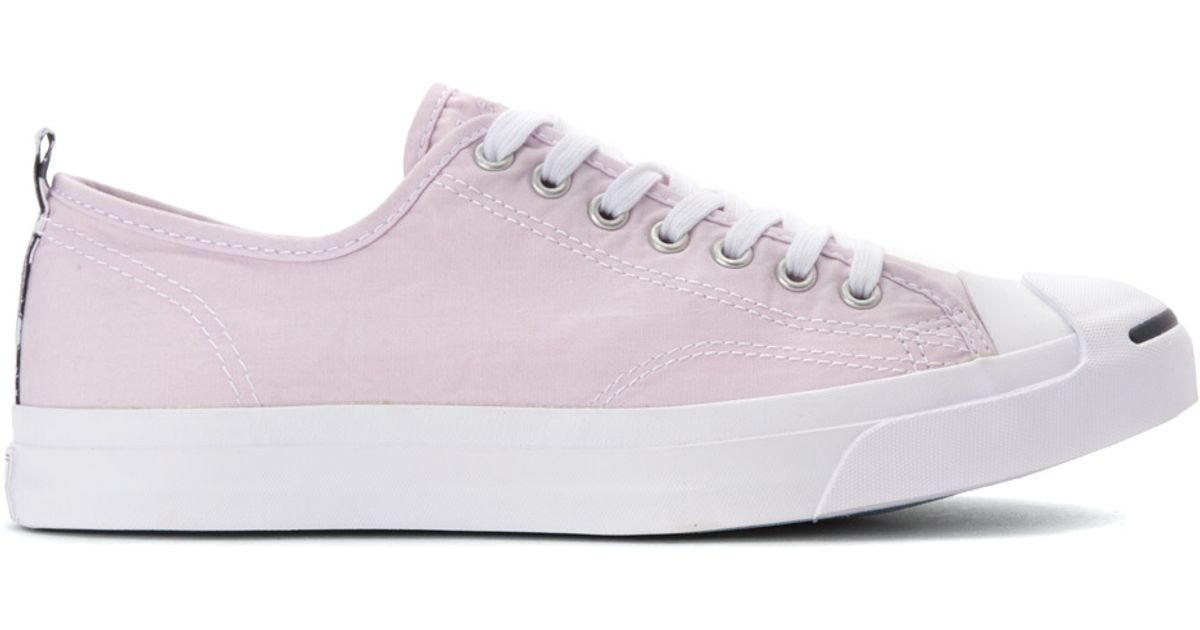 f8b198a631d8 Lyst - Converse Jack Purcell Hawaiian Twill Sneaker in White